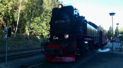 Old Steam Locomotive 20111016 142806 Stock Footage