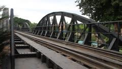 On the bridge Stock Footage