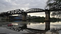Bridge on the river Kwai Stock Footage
