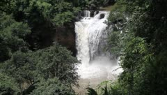 Waterfall in Khao Yai national park Stock Footage