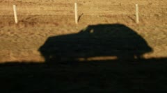 Car Shadow Stock Footage