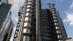 Lloyd's Building London Stock Footage