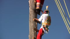 Papantla flyers - stock footage