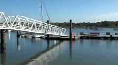 Hamble Waterfront Stock Footage