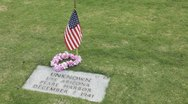 Stock Video Footage of Punchbowl Cemetery Unknown grave site