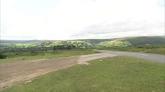 Dartmoor Landscape Stock Footage