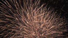 Sequence of explosions - Fireworks 9 - stock footage