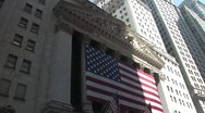 Stock Video Footage of The New York Stock Exchange
