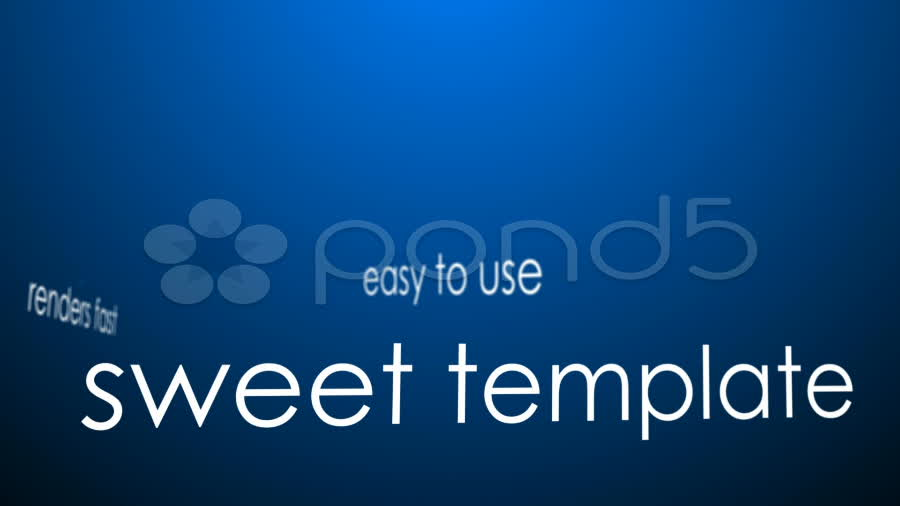After Effects Project - Pond5 Clean blue template.zip 8895904