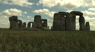 Stock Video Footage of Time Lapse, Stonehenge, England 1920