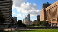 Stock Video Footage of Timelapse of courthouse in St. Louis