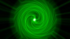 Swirl tunnel hole and ripple pulse,rotation energy blackhole halo field have po Stock Footage
