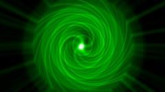 swirl tunnel hole and ripple pulse,rotation energy blackhole halo field have po - stock footage