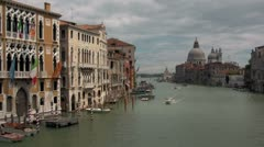 Grand Canal, Venice Stock Footage