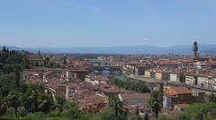 Timelapse of Florence, Italy Stock Footage