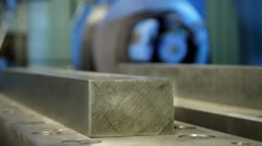 97 Ingot iron at the factory Stock Footage