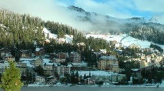 Lake St.Moritz, Engadin, Switzerland, Schweiz Stock Footage