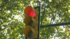 Traffic Signal Stock Footage