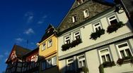 Limburg timbered houses Hessen Germany Stock Footage