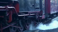 Steam Locomotive with sound 20111016 143059 Stock Footage