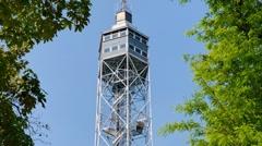 Torre (tower) branca Stock Footage