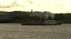 Paddle steamer Stock Footage