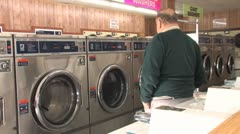 Laundromat 10 Stock Footage