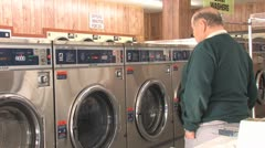 Laundromat 11 Stock Footage