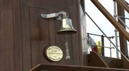 Stock Video Footage of Ships Bell