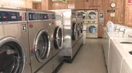 Stock Video Footage of Laundromat 7