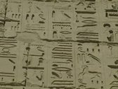 Stock Video Footage of Close up of hieroglyphics