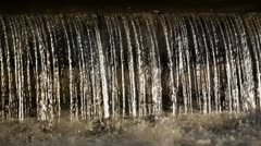 Stock Video Footage of Waterfall of pure water