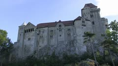 Castle Liechtenstein 02 Stock Footage