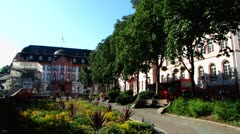 Mainz old town Rhineland-Palatinate Germany Stock Footage