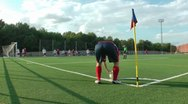 Women´s Soccer Game Stock Footage