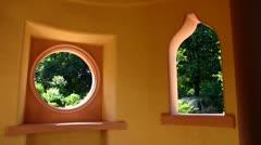 Schwetzingen castle Palace mosque Baden Wuerttemberg - stock footage