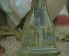 Close up of base of hookah pipe Stock Footage