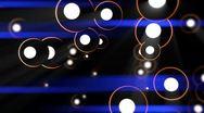 Cartoon - Balls - 5 - Lens Flare Stock Footage