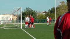Woman´s Soccer Match Stock Footage