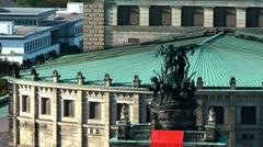 Dresden Semper Opera, Germany, Deutschland Stock Footage