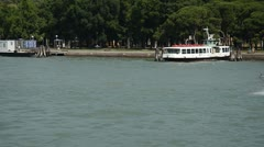 Venice Water Taxi Stock Footage