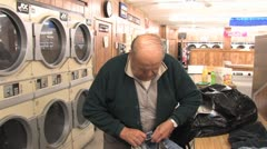 Laundromat 49 Stock Footage