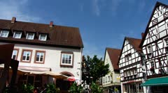 Anweiler am trifels Wine area Rhineland-Palatinate - stock footage