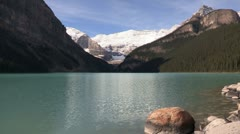 Canada: Lake Louise in Banff National Park Stock Footage