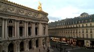 Stock Video Footage of Buildings and street in Paris