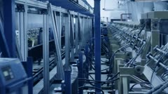 Production line Stock Footage