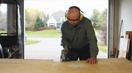 Cutting Wood Stock Footage