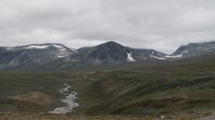 Dovrefjell norway Stock Footage