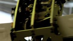 Rotating radar Stock Footage