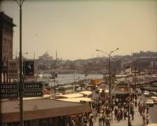Istanbul vintage Stock Footage